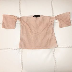 Pacsun Kendall & Kylie Ribbed Crop Top